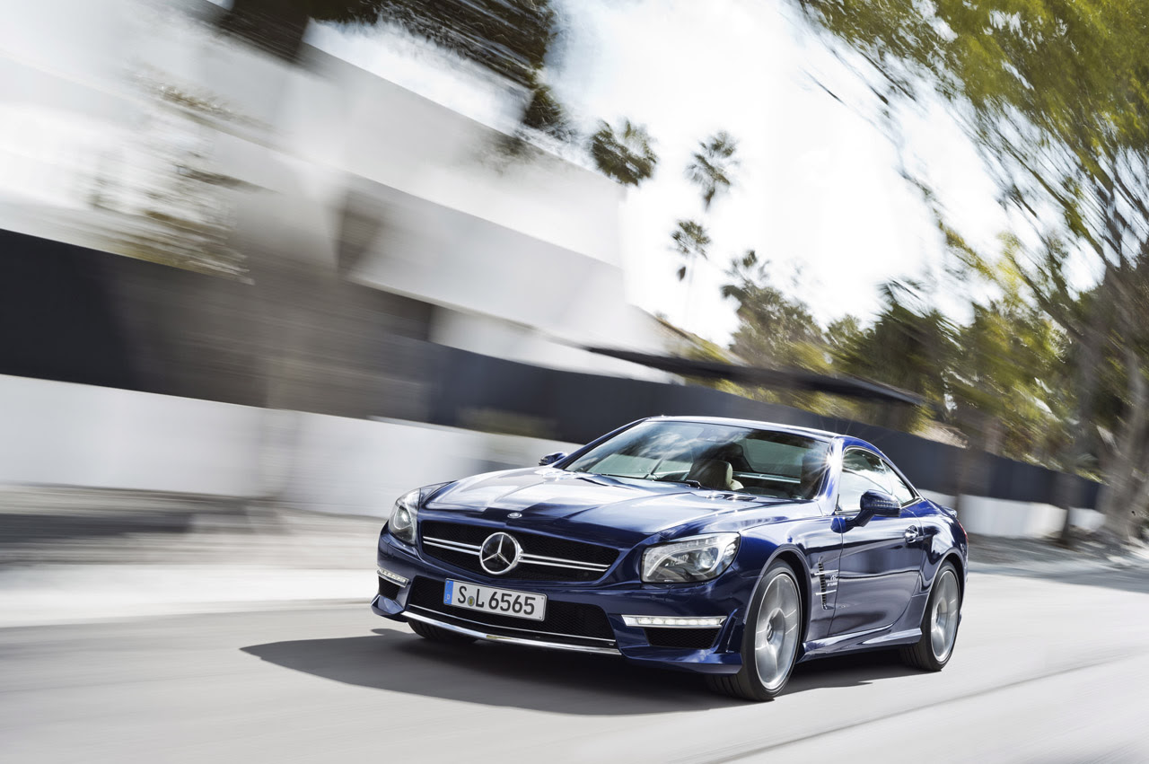 Mercedes Benz Releases The Whole Enchilada On The 621 Hp 2012 Sl65 Images, Photos, Reviews