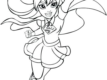 dc superhero girls coloring pages at getcolorings  free printable colorings pages to print