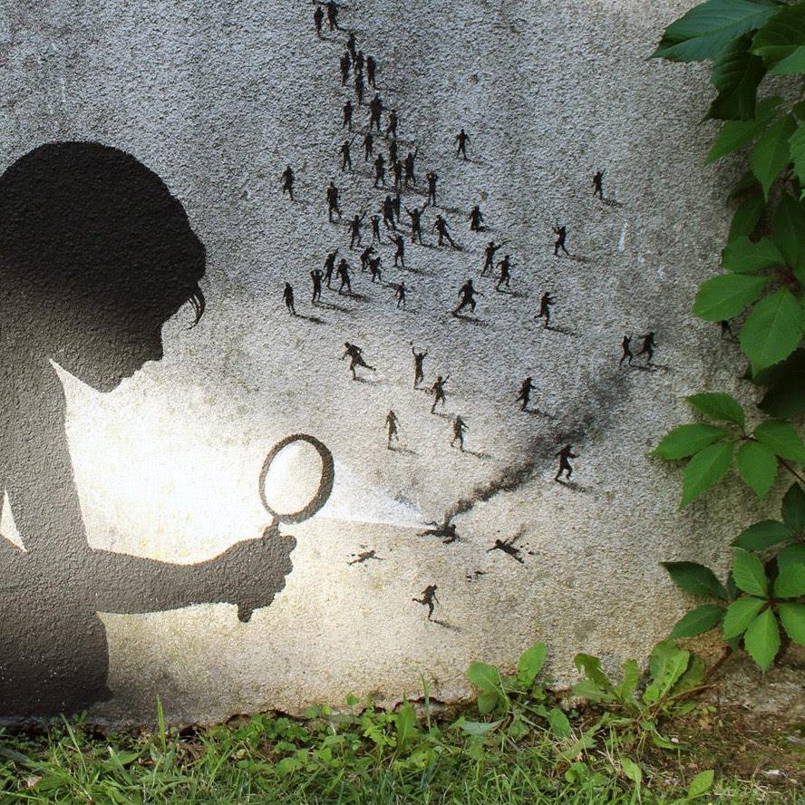 pejac graffiti