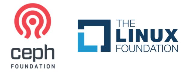 cepha and linux foundation logo