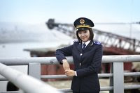 đồng phục nữ ngành hải quan