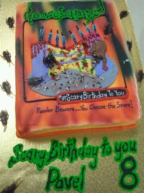 goosebumps birthday cake goosebumps pinterest