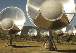 Allen Telescope Array de SETI (Crédito: SETI Institute)