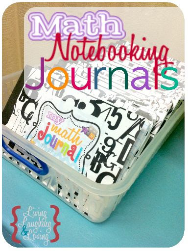 Math Notebooking Journals - free printable