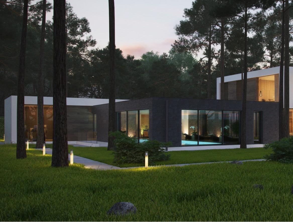 Minimalist Home Exteriorinterior Design Ideas