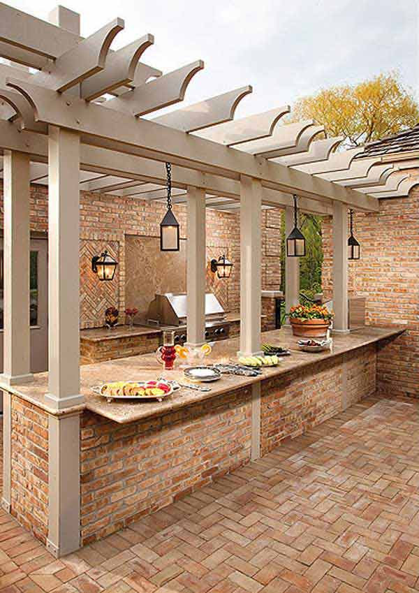amazing outdoor kitchen ideas and designs | Amazing Outdoor Kitchen Ideas Let You Enjoy Your Spare ...