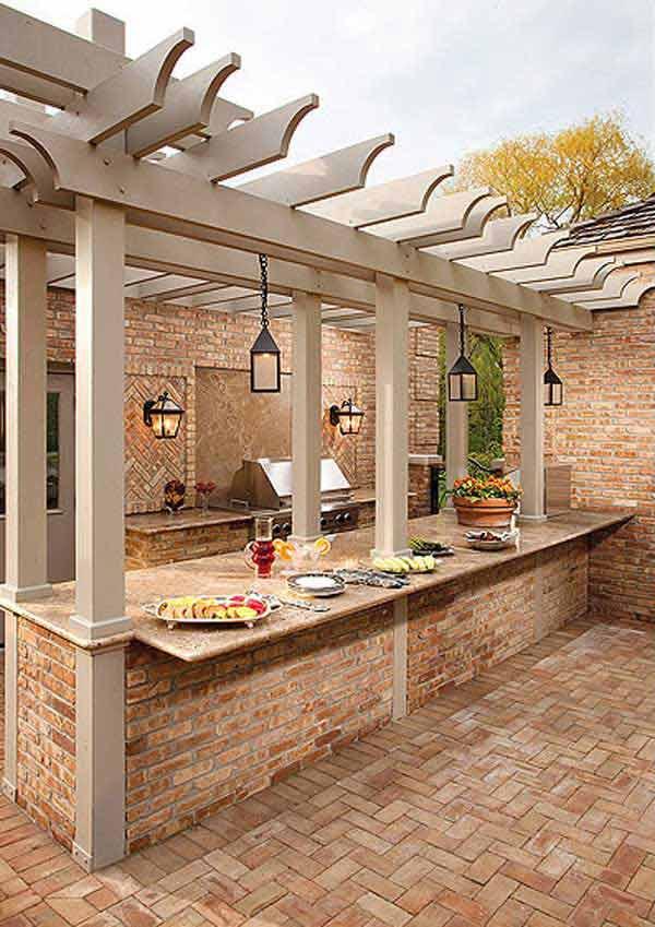astonishing outdoor kitchen ideas | Amazing Outdoor Kitchen Ideas Let You Enjoy Your Spare ...