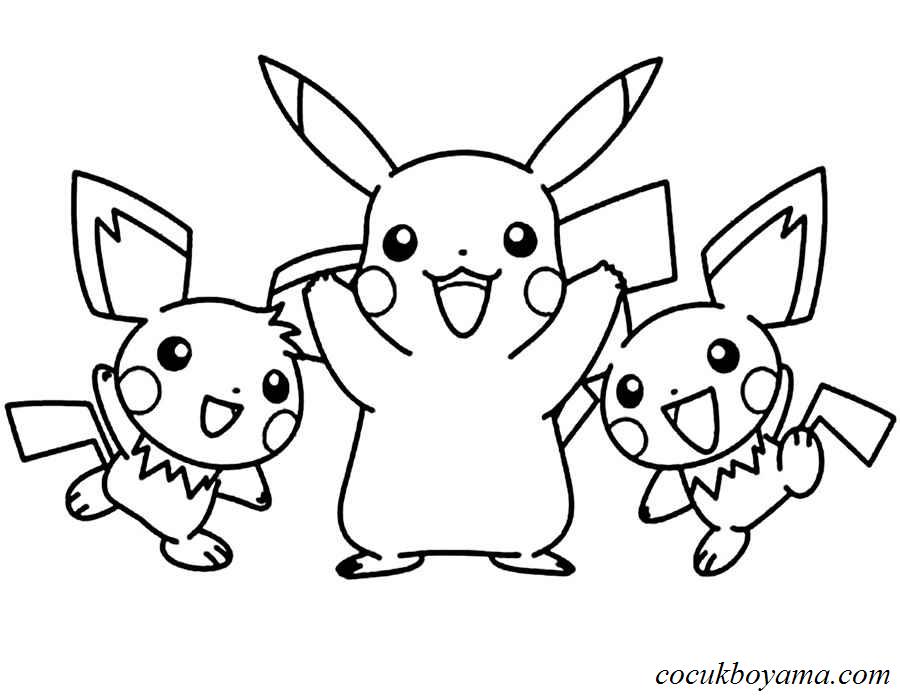 Pokemon 49 ücretsiz Boyama Resimleri