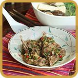 Steamed Spare Ribs with Garlic and Coriander