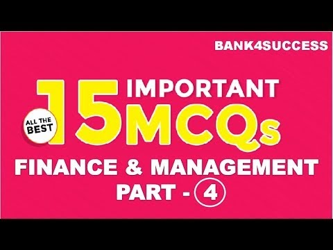 Management MCQs With Explanation for RBI Grade B Set -4 PDF Download