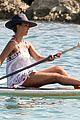 jessica alba paddle boarding in hawaii 03