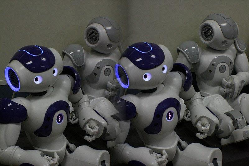 Berkas:Nao robot, Jaume University.jpg