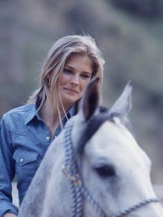 Candice Bergen by Michael Mauney, 1967.