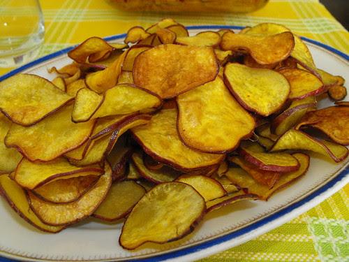 Batata doce frita para acompanhar