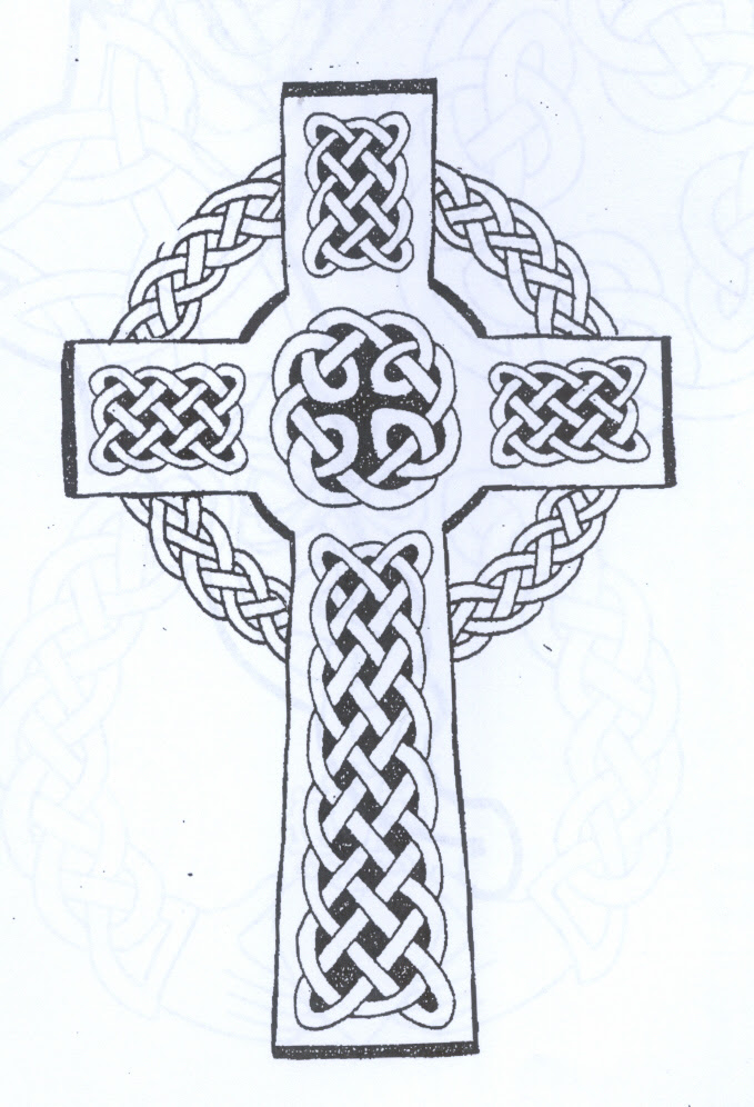 Celtic Cross Drawing At Getdrawingscom Free For Personal Use