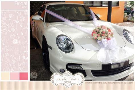 Bridal Car   Wedding Decoration Malaysia   Floral Design
