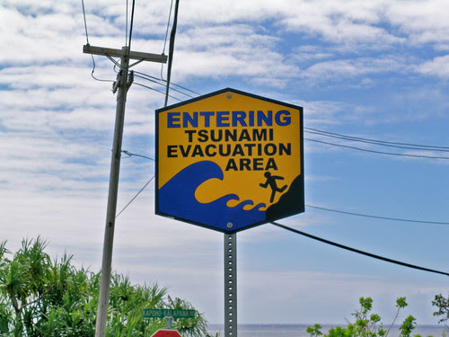 Warning Sign in Paradise