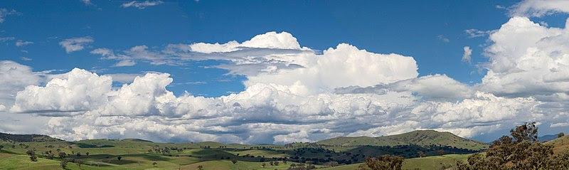 File:Cumulus clouds panorama.jpg