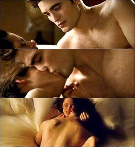 Accept. The Edward cullen sex tape
