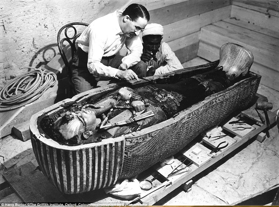 Image result for tutankhamun tomb pictures