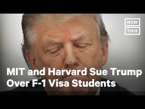 MIT and Harvard Sue Trump Over F-1 Visa International Students | NowThis