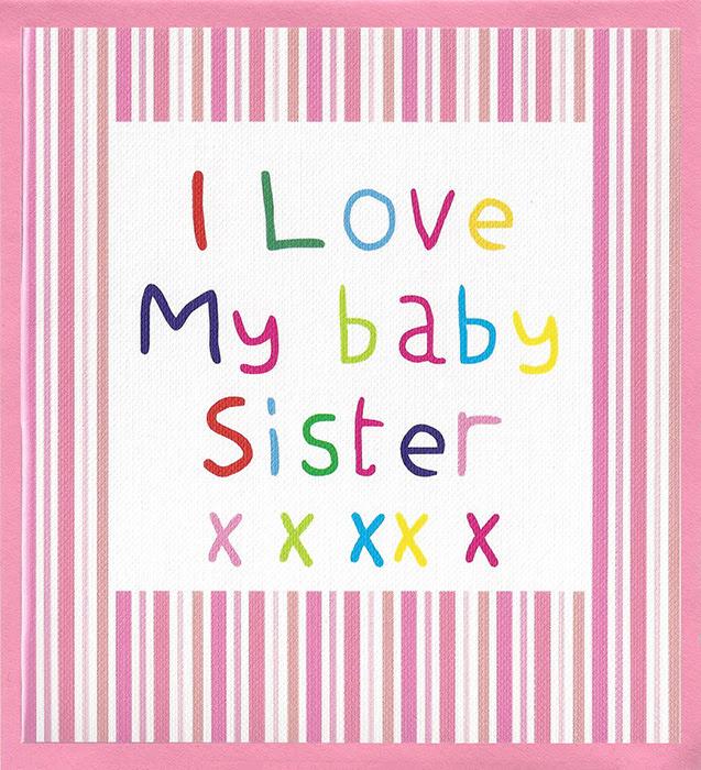 Odey Designs I Love My Baby Sister Cr28