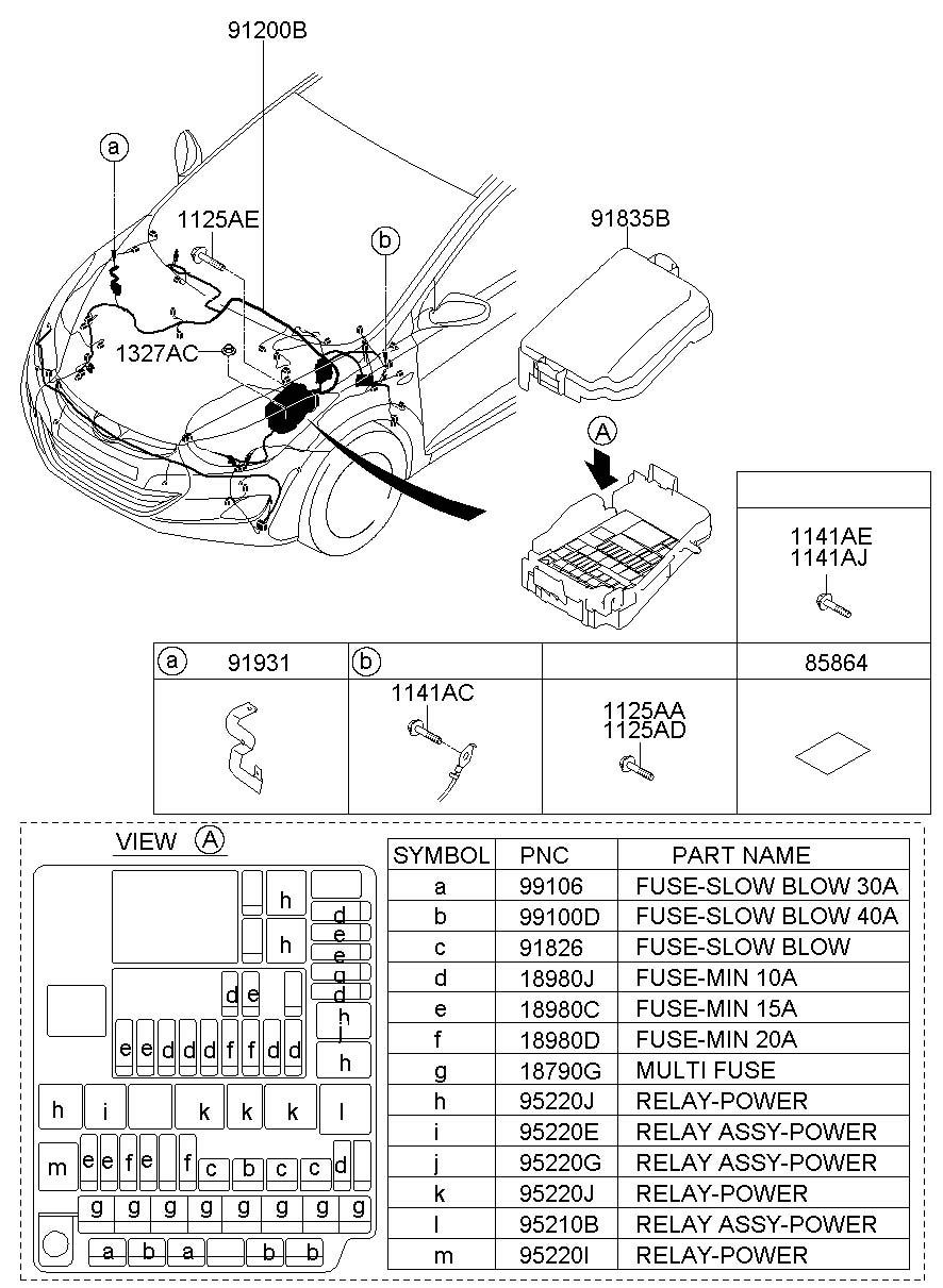 Hyundai Elantra Fuse Box - Wiring Diagram