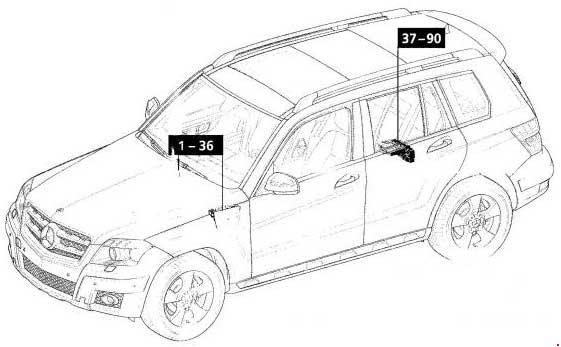 Nissan Qashqai 2016 Fuse Box Diagram