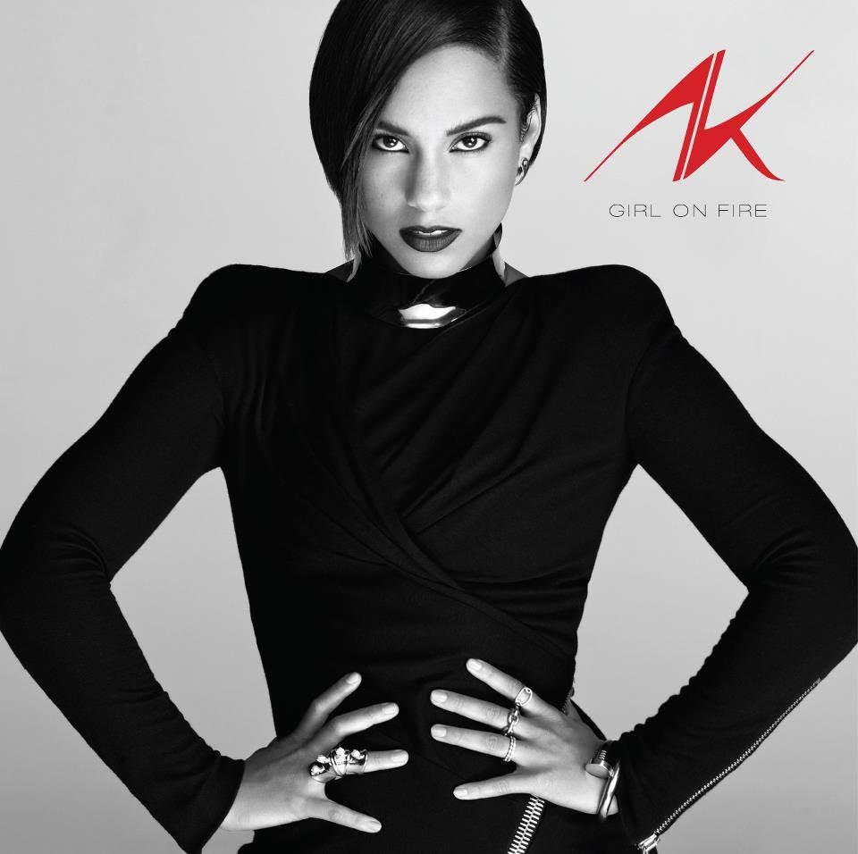 Girl On Fire (Album Cover), Alicia Keys