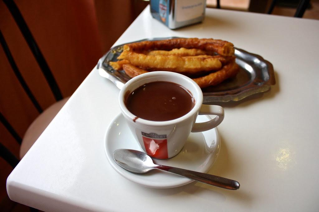 chocolate con churros