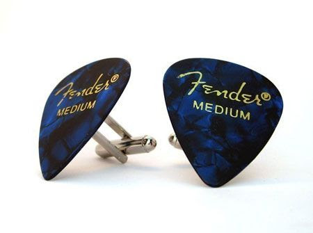 Guitar Pick Cufflinks