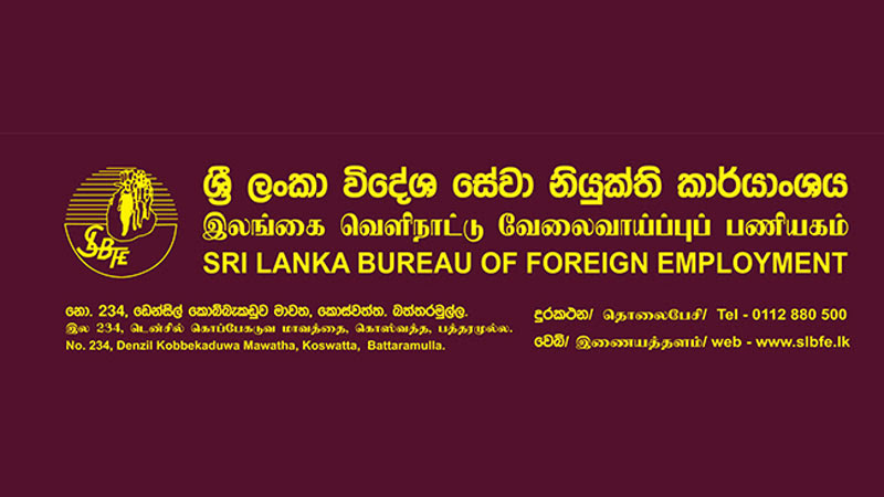 SLBFE requests SL migrant workers to cooperate with Govt. efforts