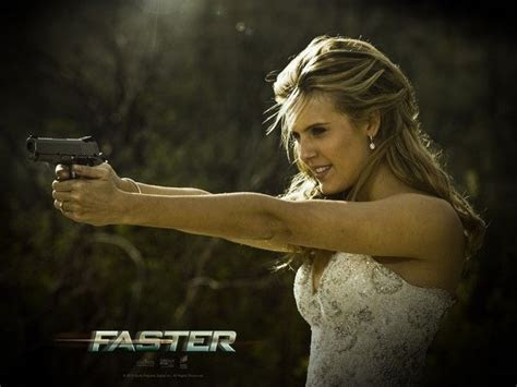 Maggie Grace as Lily   Bride in Faster   side   Maggie