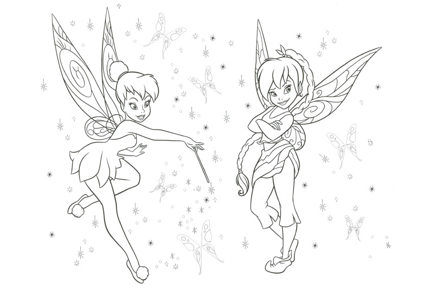 Rosetta Fairy Coloring Pages at GetColorings.com | Free ...