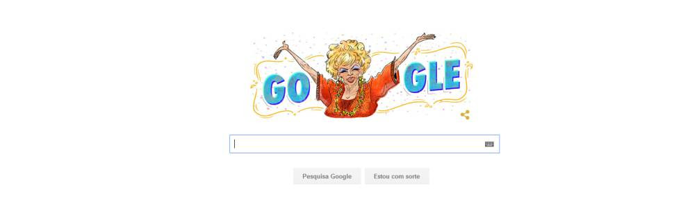 Dercy Gonçalves Doodle do Google
