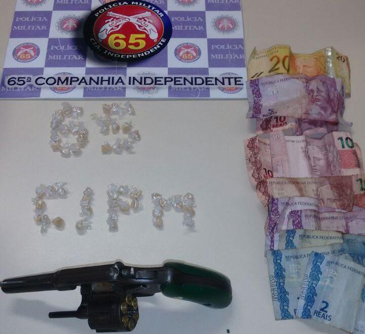 Suspeito armado morre em confronto com a PM em Feira de Santana