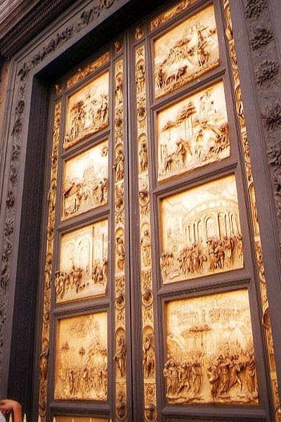 Picture of East door of the Baptistry, Florence, Italy - Free Pictures