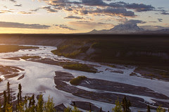 Mount Blackburn and the Copper River