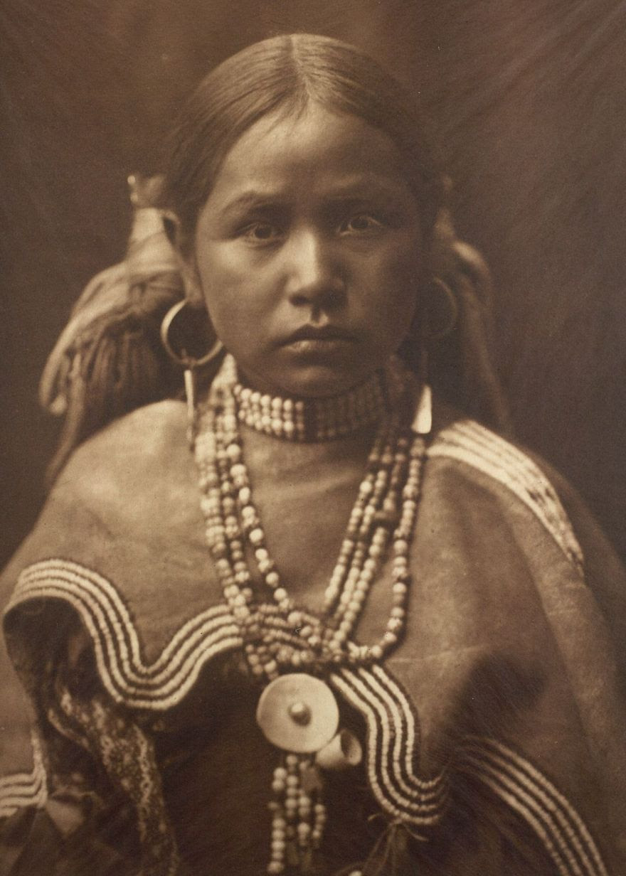 A Jicarrilla girl, c. 1910