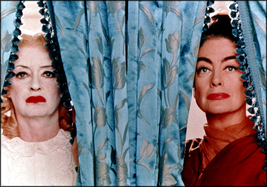 "Bette Davis (left) and Joan Crawford in ""Whatever Happened To Baby Jane?"""