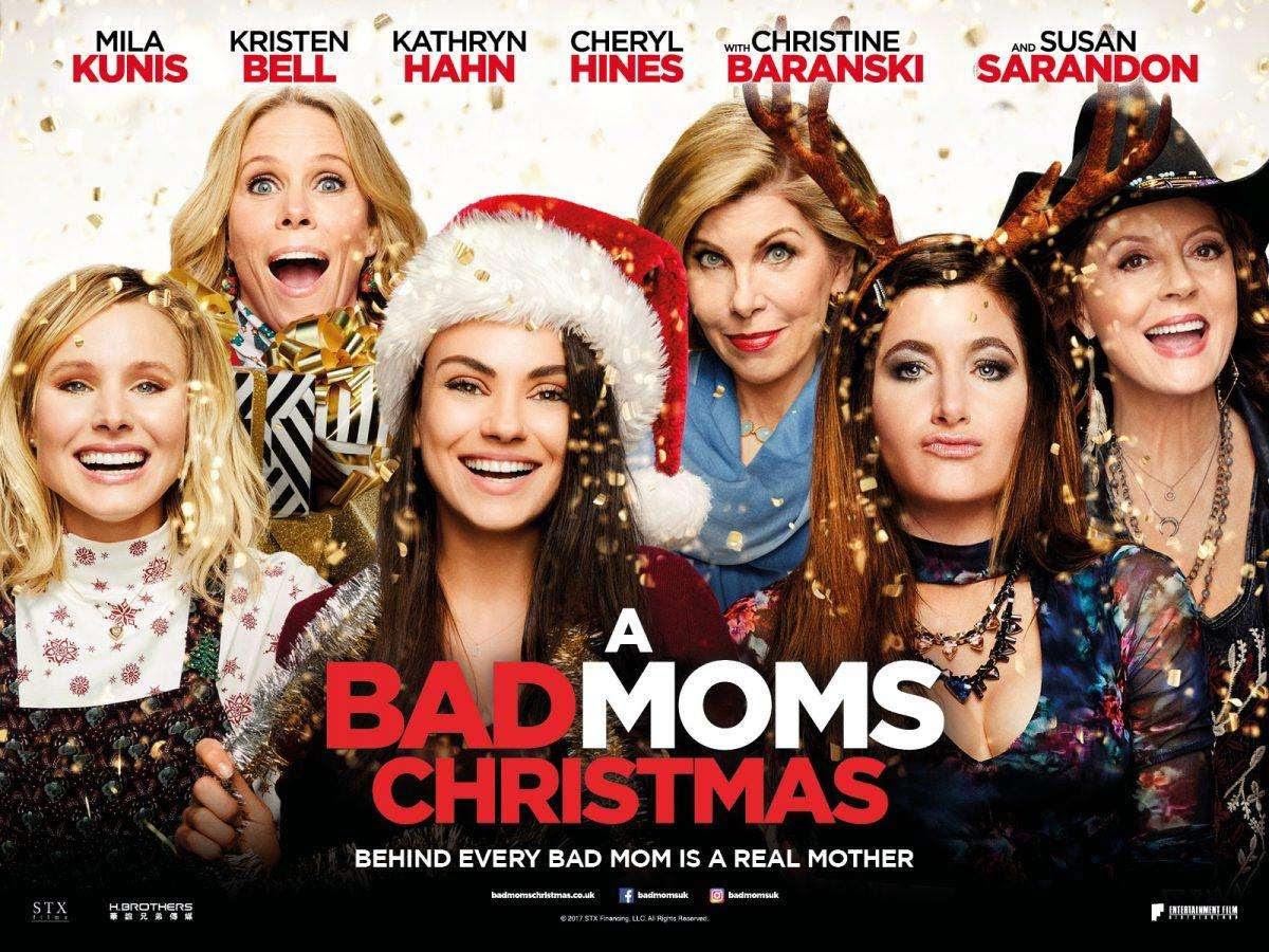 Μαμάδες με Κακή Διαγωγή: Χριστούγεννα Εκτός Ελέγχου (A Bad Moms Christmas) Quad Poster Πόστερ
