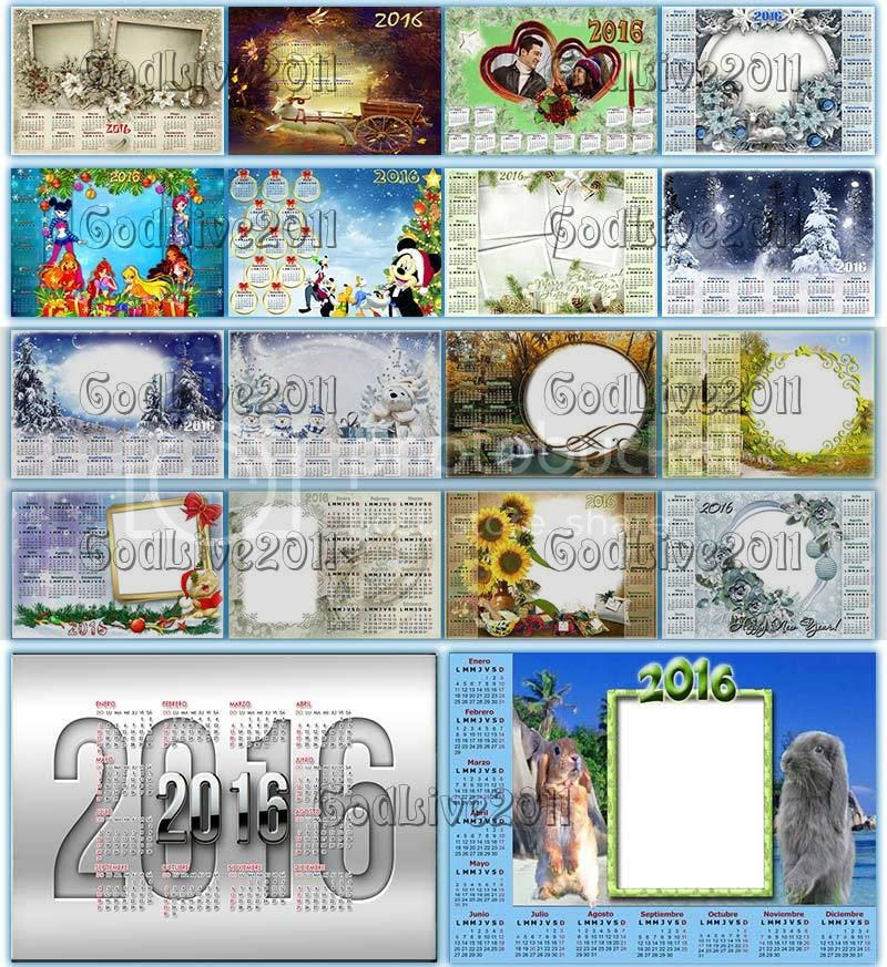 calendario 2016 con festivos para colombia