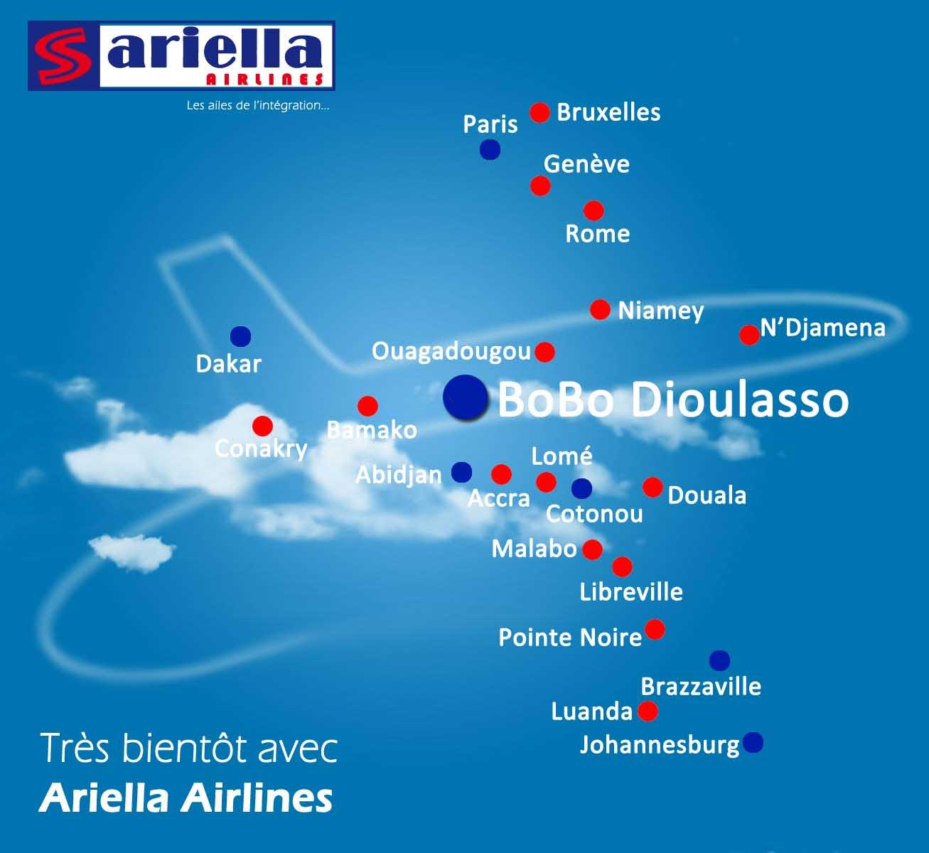 Ariella's planned network