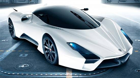 ssc aero 1 550x309 Super Cars of the Future: Inspiring Future thinking in Car Design