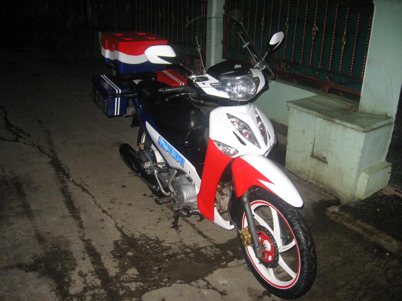 Download Koleksi 99 Modif Cat Motor Supra 125 Terbaik Kampong Motor