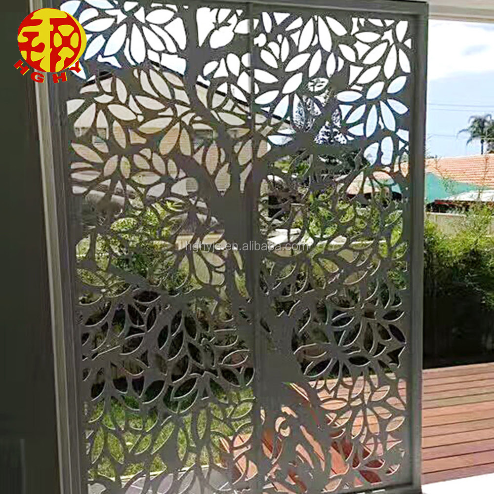Stainless Steel Cnc Cutting Architectural Laser Cut Metal Screens