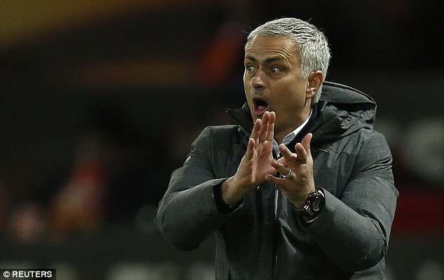 Jose Mourinho experienced a memorable night against Anderlecht in the Europa League