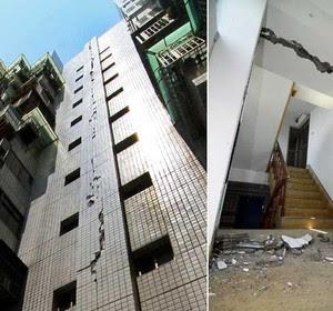 Forte terremoto em Taiwan deixa 1 morto e mais de 80 feridos (Reuters)