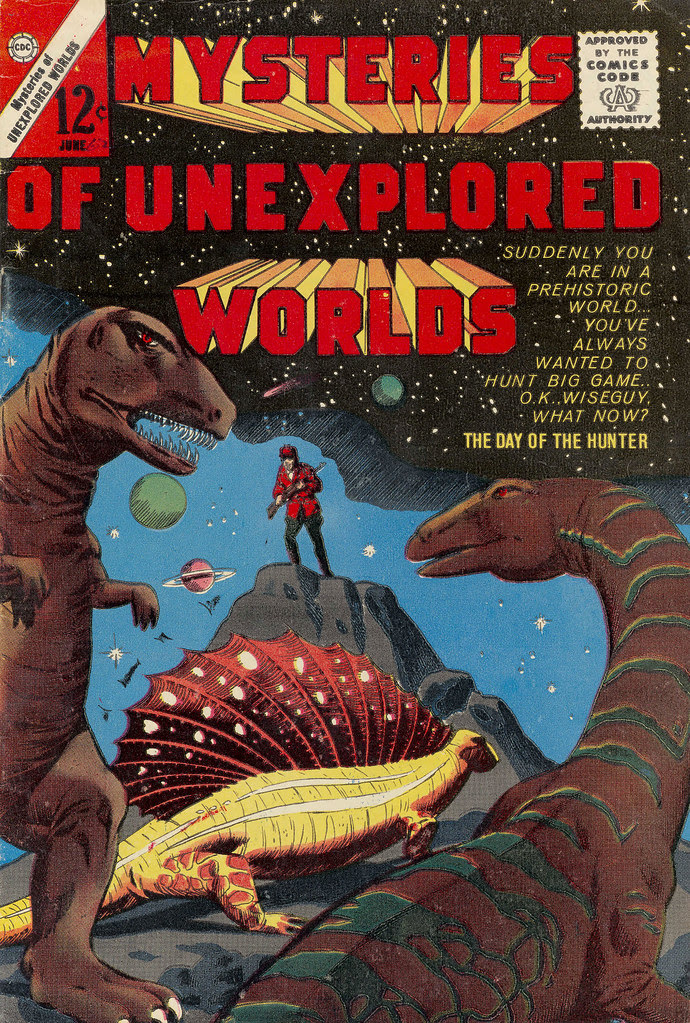 Mysteries of Unexplored Worlds #36 (Charlton, 1964)