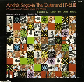 SEGOVIA, ANDRES guitar and i (vol.ii), the